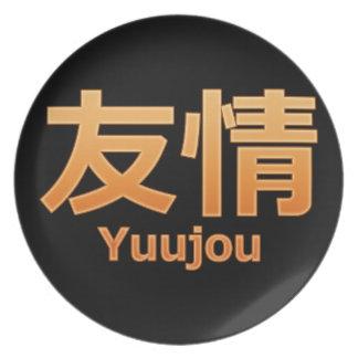 Yuujou (Friendship) Melamine Plate