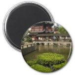 Yuyan garden, Shanghai, China 2 Inch Round Magnet