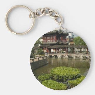 Yuyan garden, Shanghai, China Keychain