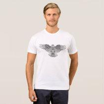 yuyass owl mandala t-shirt