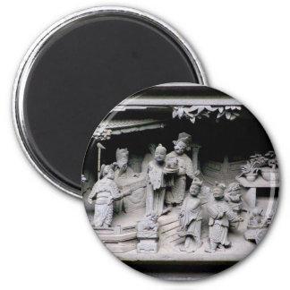 Yuyuan Garden Carving Magnet