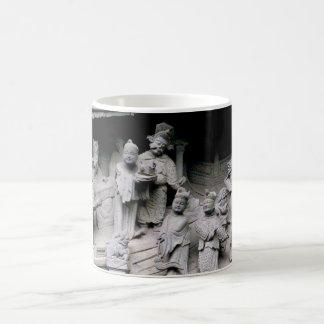 Yuyuan Garden Carving Coffee Mugs