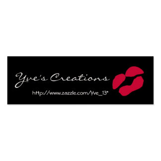 Yve's Creations Profile Card - Customizable Business Card Templates
