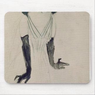 Yvette Guilbert , 1894 Mouse Pad