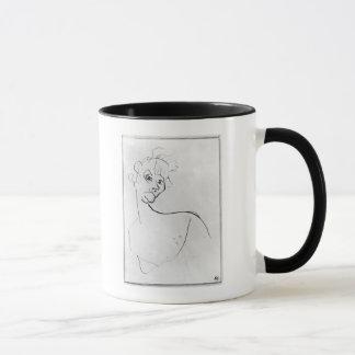 Yvette Guilbert  1894 Mug