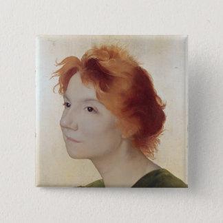 Yvette Guilbert  1895 Button