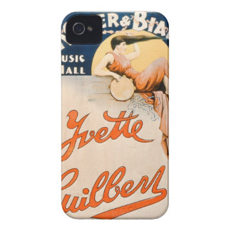 'Yvette Guilbert (c.1869-1944) at Koster and Bial' Case-Mate iPhone 4 Case