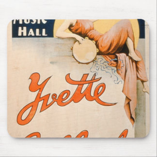 'Yvette Guilbert (c.1869-1944) at Koster and Bial' Mouse Pad