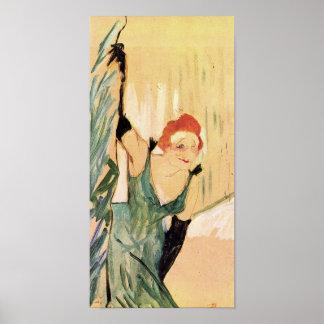 Yvette Guilbert, Henri de Toulouse-Lautrec Poster