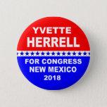 Yvette Herrell for Congress New Mexico 2018 Button