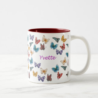 Yvette Two-Tone Coffee Mug