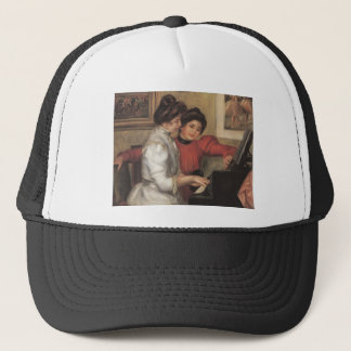 Yvonne and Christine Lerolle at the piano - Renoir Trucker Hat