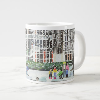 Yvonne Arnaud Theatre Large Coffee Mug