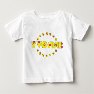 Yvonne Flores Yellow Baby T-Shirt