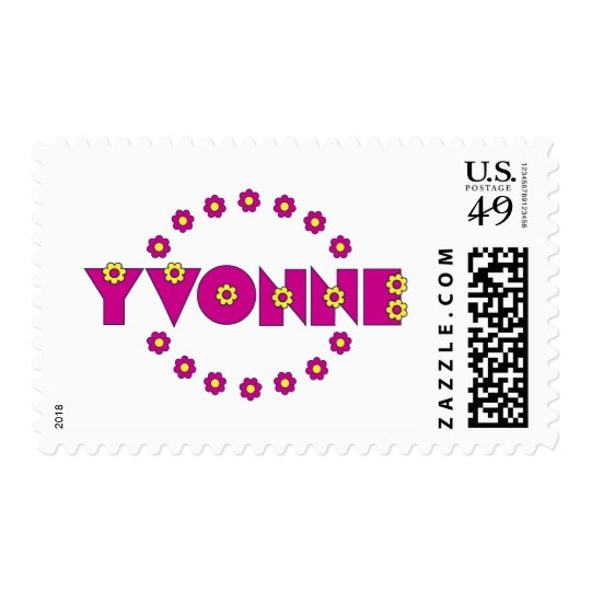 Yvonne In Flores Pink Postage
