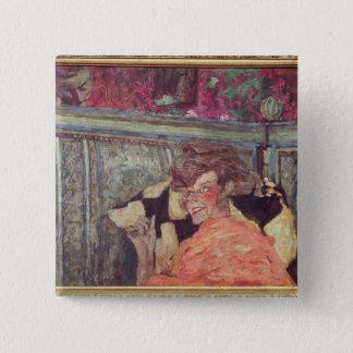Yvonne Printemps  and Sacha Guitry  c.1912 Pinback Button