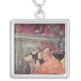 Yvonne Printemps  and Sacha Guitry  c.1912 Square Pendant Necklace