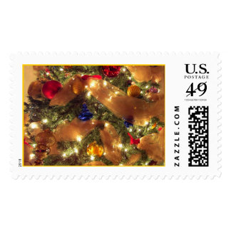 Yvonnes' Christmas Tree Postage