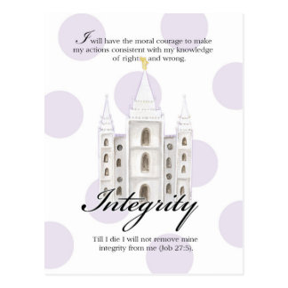 YW Value Card- Integrity Postcards