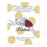 YW Value Card - VIRTUE Post Card