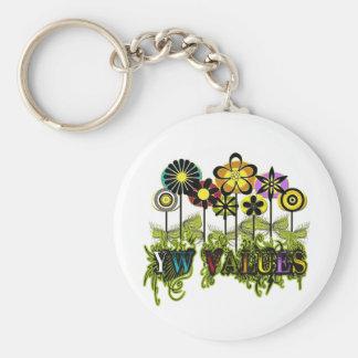YW Value Flowers Keychain