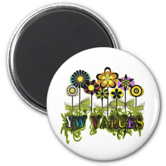 YW Value Flowers Refrigerator Magnets