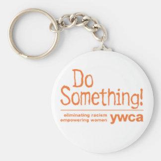 ywca activism basic round button keychain