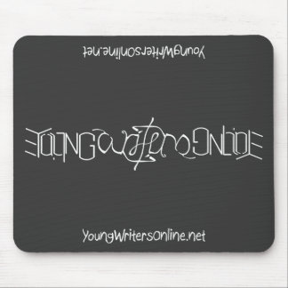 YWO Ambigram Mousepad (Black)