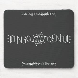YWO Ambigram Mousepad (negro) Tapete De Raton
