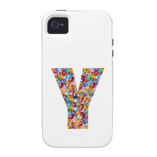 yyy ALPHA Y Gifts Jewels Pearls Gems Celebrations iPhone 4/4S Covers