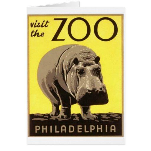 Z00 - Hippo Card