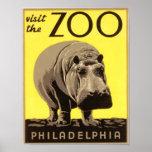 Z00 - Hippo Print