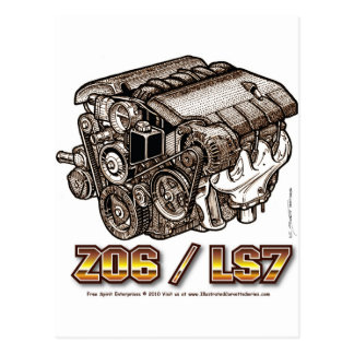Z06/LS7 POSTCARD