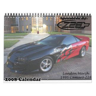 Z28.com #2 calendario de pared