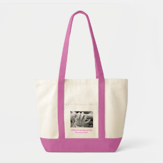z2, A baby girl may outgrow your lap,but never ... Canvas Bags