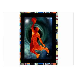 Z BASQUET BALL KID PLAYER 01 CUSTOMIZABLE PRODUCTS POSTCARD