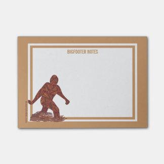 Z Bigfoot Walking Sasquatch Fun Bigfooter Notes