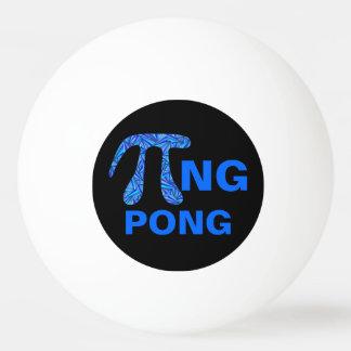Z Blue Pi Symbol Math Geek Funny Pi+ng Pong Design Ping-Pong Ball