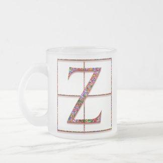 "Z ""Celtic Bricks"" Custom Monogram Mugs"