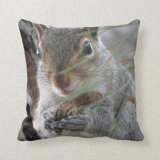 Z Cheeky Squirrel With Peanut Decorator Pillow