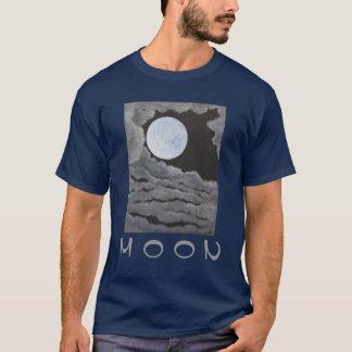 Z Christmas Moon Full Moon Night Sky Clouds T-Shirt
