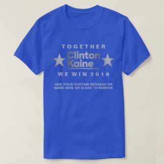 Z Clinton Kaine 2016 Unique Political Fashion T-Shirt