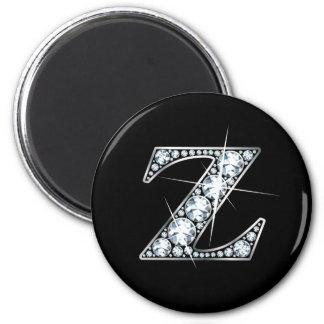 """""""Z"""" Diamond Bling Magnet"""