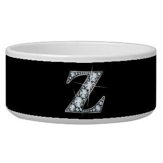 """Z """"Diamond Bling"""" Pet Bowl"""