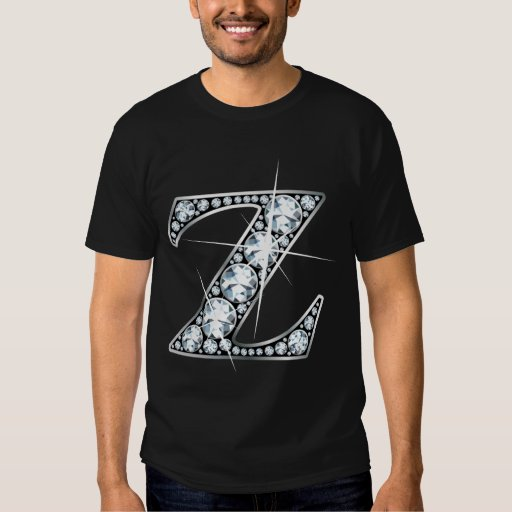 """""""Z"""" Diamond Bling T-Shirt"""