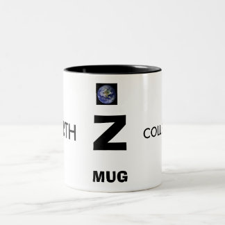 Z, EARTH, COLLECTIONS, ALPHABET MUGS