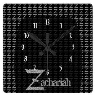 Z - El alfabeto de Falck (plateado) Reloj
