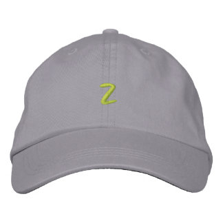 Z EMBROIDERED BASEBALL CAP
