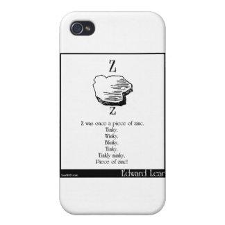 Z era una vez un pedazo de cinc iPhone 4 protectores
