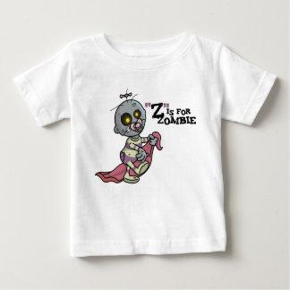 """""""Z"""" está para el zombi con la camiseta combinada Playera"""